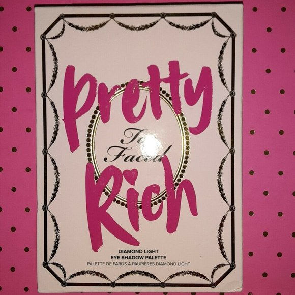 Too Faced Pretty Rich Diamond Light Eye Palette
